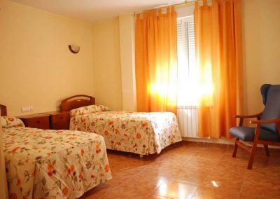 Habitación camas